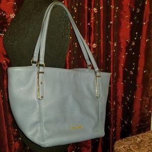 FRANCO SARTO Blue Shoulder Bag EUC